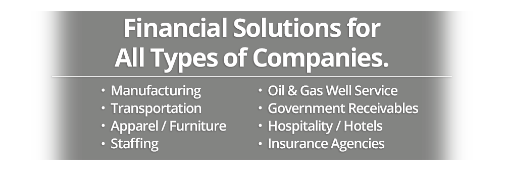 Financial Solutions for All Types of Companies